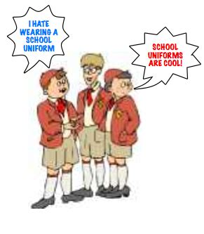 Argumentative Essay: Wearing School Uniform Makes Learners